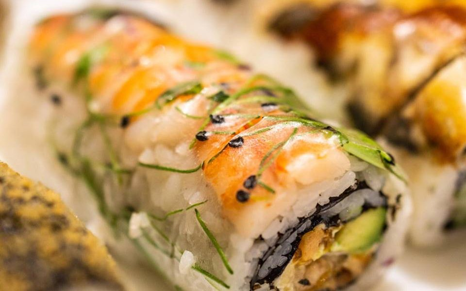 Javi Sushi Inside Out Rolls