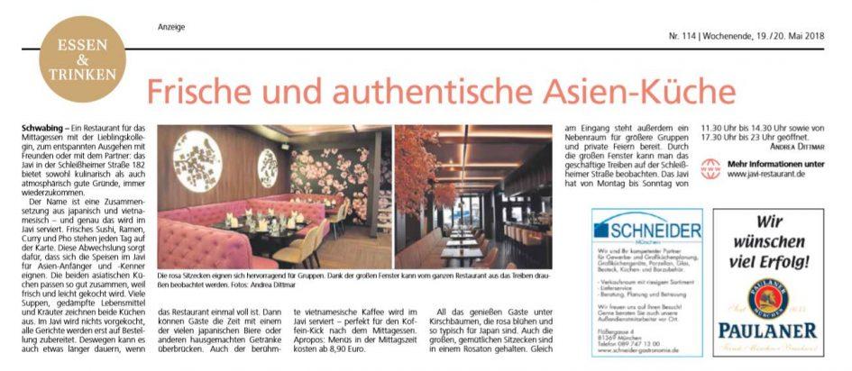 TZ-Zeitungsartikel